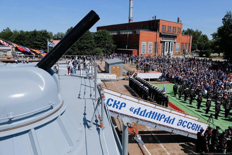 За 1-е полугодие российский флот получил сторожевой корабль и около 50-ти «Калибров»