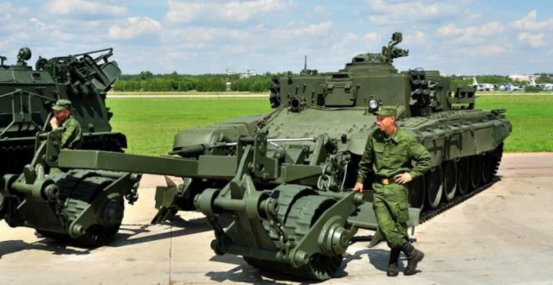 Завершены испытания тяжёлого комплекса разминирования «Проход-1» (видео)