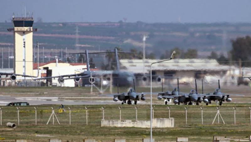 США приостановили на авиабазе Инджирлик все воздушные операции