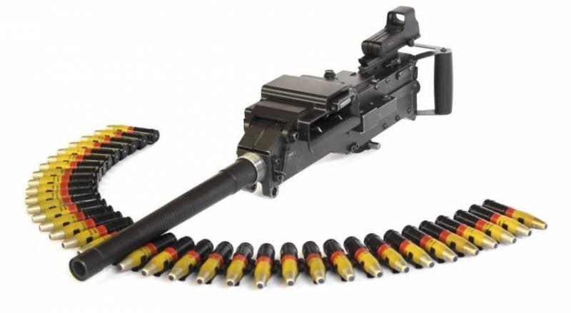 В ЮАР разработали лёгкую 20-мм автоматическую пушку
