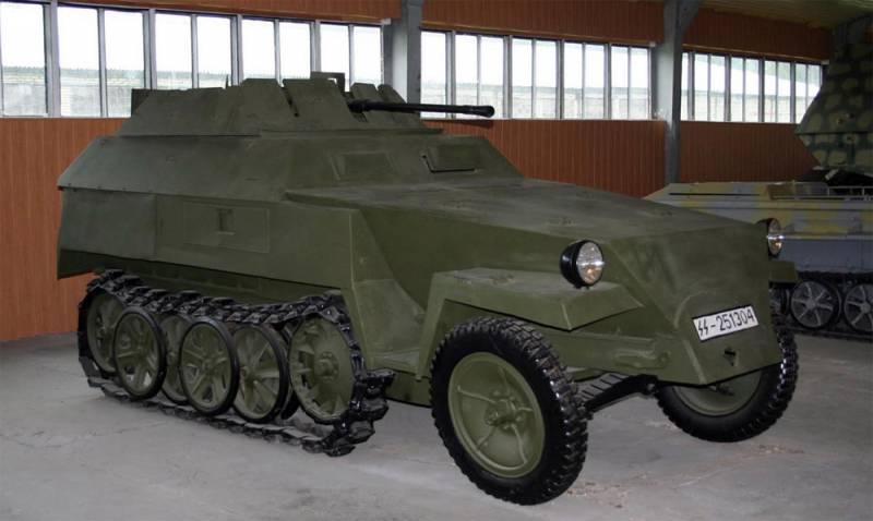Боевая разведывательная машина Sd.Kfz.250/9 (Германия)