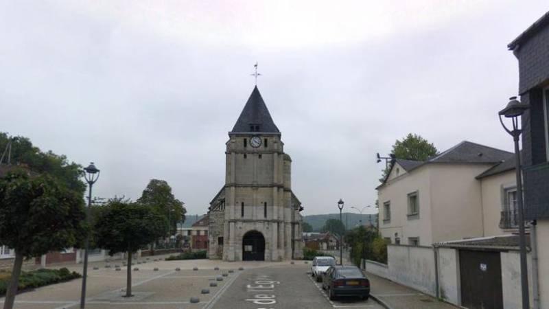 Захват заложников в одной из французских церквей