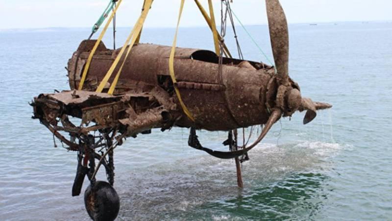 Со дна Чёрного моря поднят штурмовик Ил-2, сбитый фашистами в 1943 г