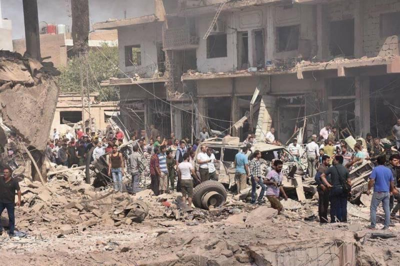 Террористическая атака ИГИЛ на Эль-Камышлы