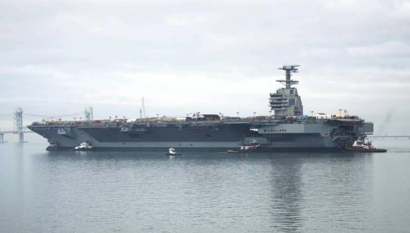 Эксперт: почему самый дорогой авианосец ВМС США оказался долгостроем
