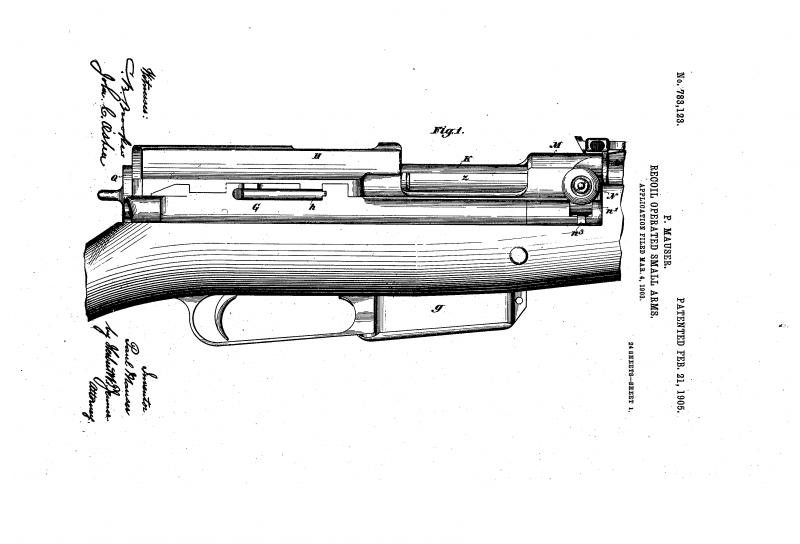 Самозарядная винтовка Mauser M1902 (Германия)