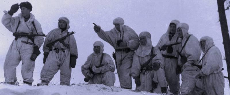 Рейд за языком группы Д.С. Покрамовича