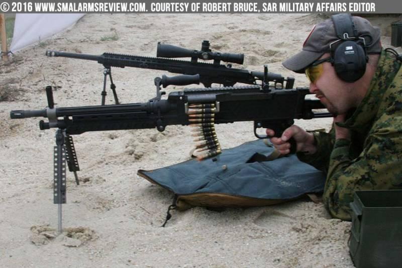 Единый пулемёт Barrett M240LW
