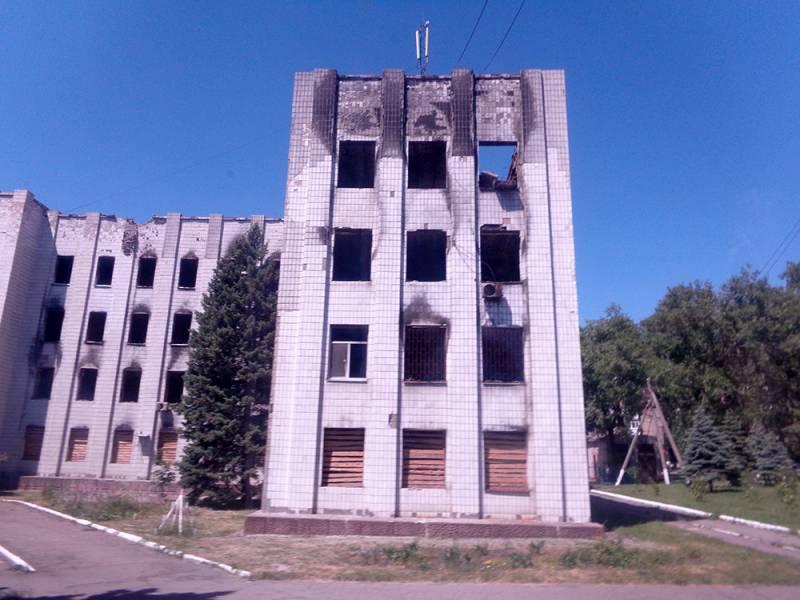 От чего уходил Донбасс?