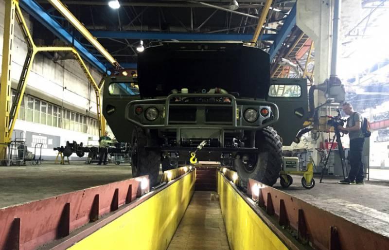 Создан опытный образец бронеавтомобиля «Тигр» с 6-м классом защиты