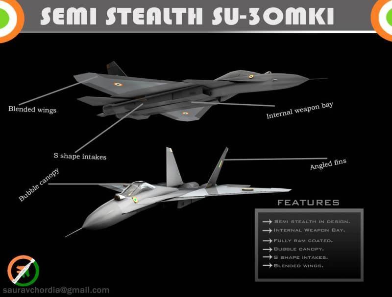 Индия планирует модернизацию 194 истребителей Су-30МКИ