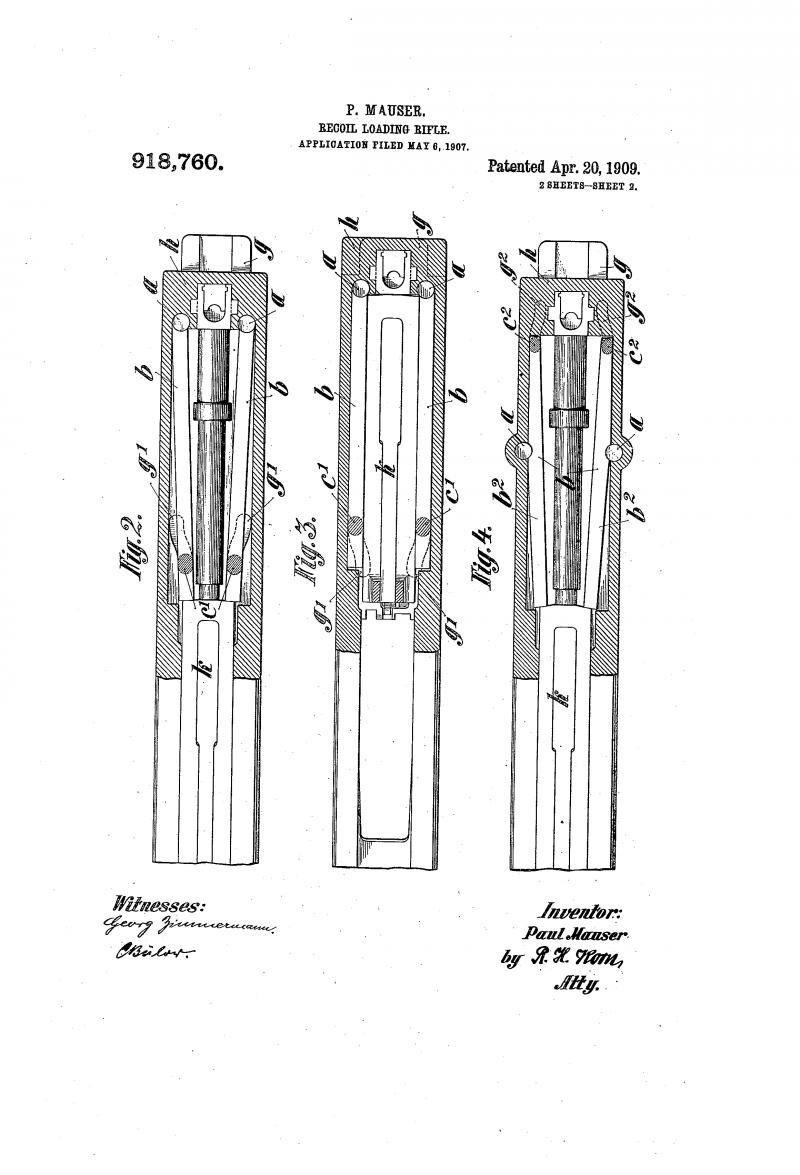 Самозарядные винтовки Mauser M1906 и «06-08» (Германия)
