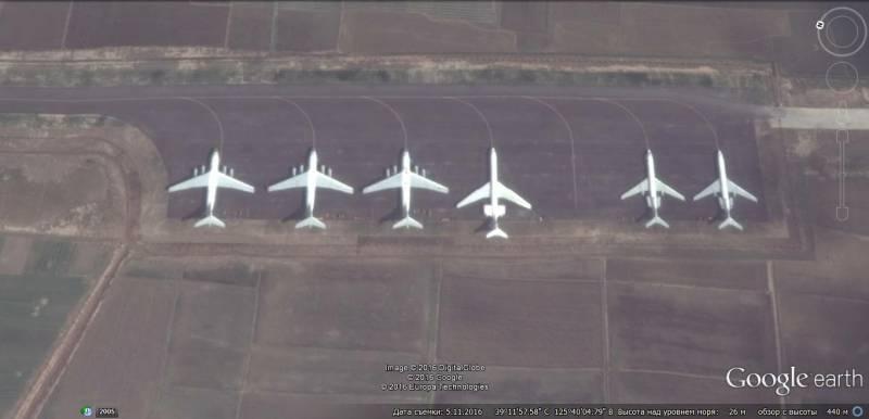 Оборонный потенциал КНДР на снимках Google Earth