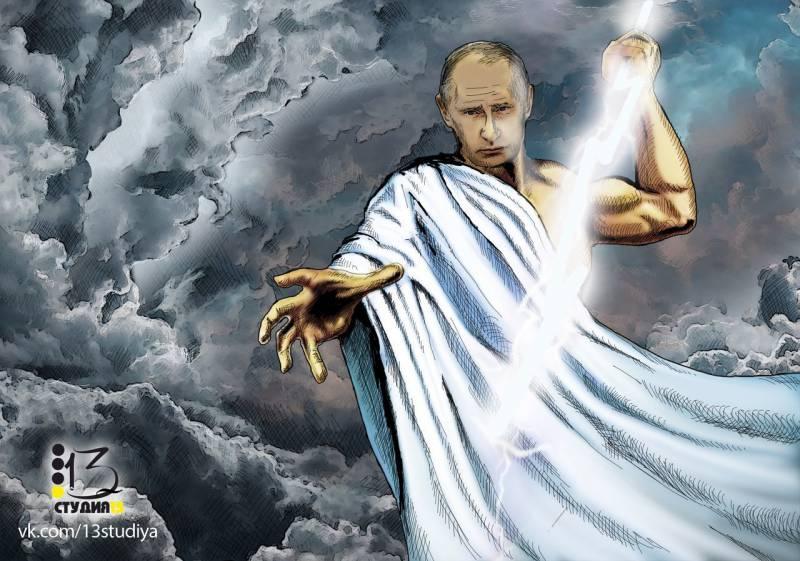 Путин — инопланетянин!