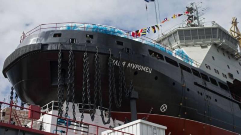 Россия создаст для Арктики специальный флот из ледоколов и боевых кораблей
