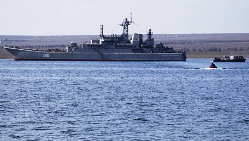 Адмирал Касатонов о восстановлении крымской базы Донузлав