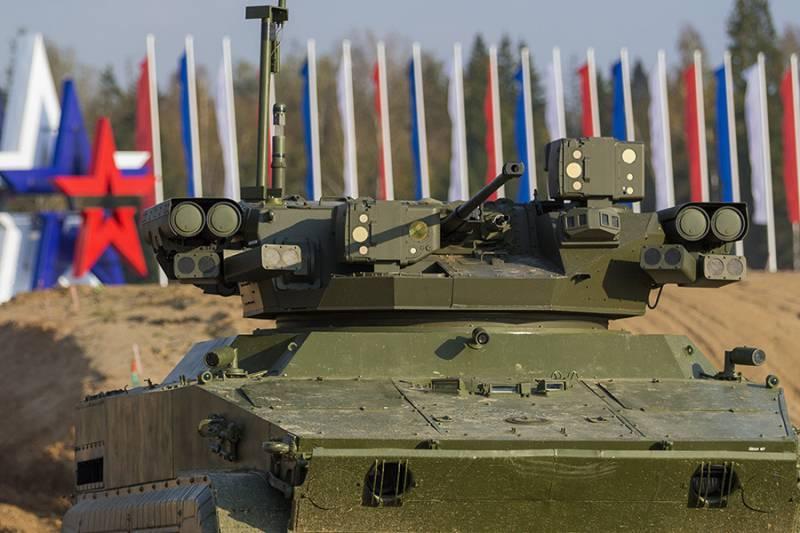 Проект безэкипажной боевой машины «Удар»