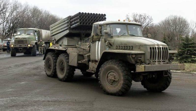 Басурин: ВСУ стягивают к линии соприкосновения «Грады» и «Акации»