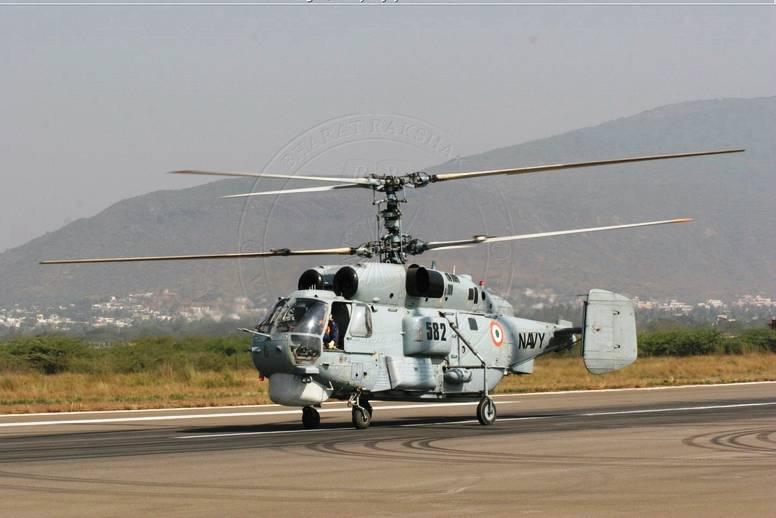 Российские специалисты проведут ремонт и модернизацию индийских противолодочных Ка -28