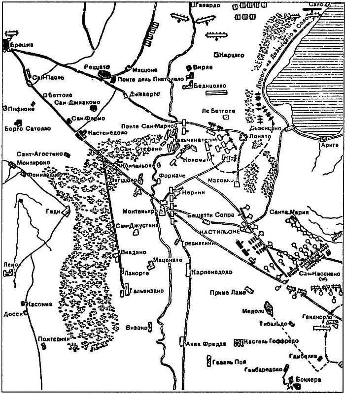 Битвы при Лонато и Кастильоне