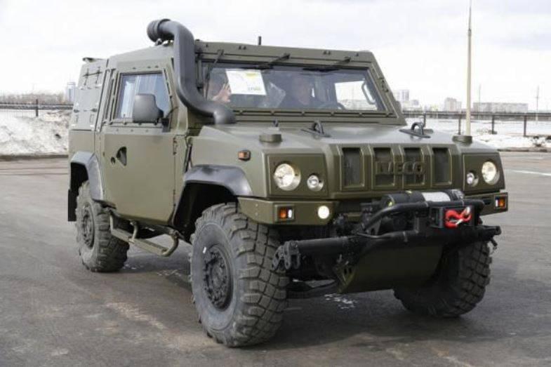Военная полиция РФ получит броневики «Рысь»