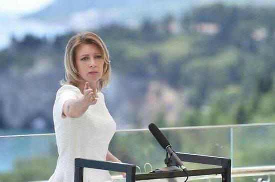 """Мария Захарова призвала западные СМИ не замалчивать о применении химоружия """"умеренной оппозицией"""""""
