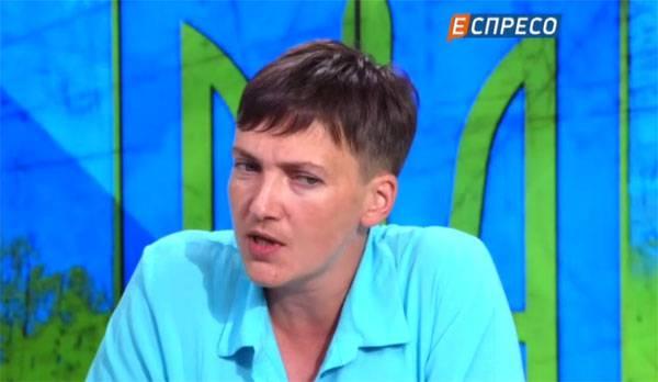 """Савченко назвала """"АТО"""" бардаком"""