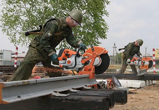 Journée des troupes de chemin de fer de la Fédération de Russie
