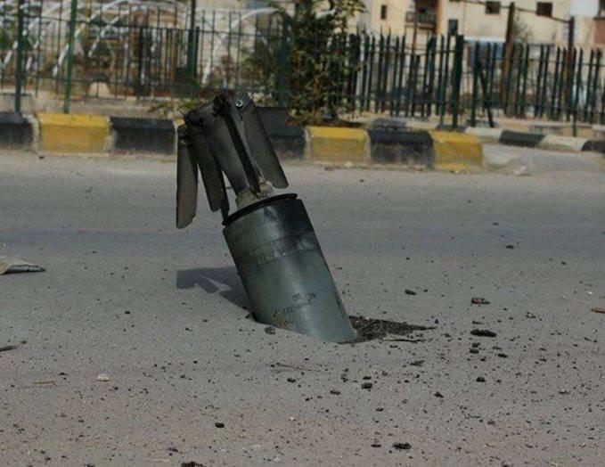 Под Алеппо сирийская армия задействовала 240-мм миномёты