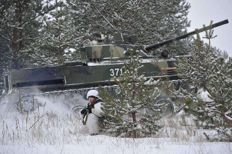 """técnica de aterrizaje: la armada """"alas de infantería"""" Rusia"""