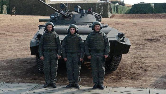 Защитный комплект для экипажей бронемашин 6Б48 «Ратник-ЗК»