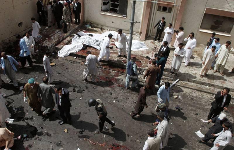 Теракт в клинике города Кветта (Пакистан) унёс десятки жизней