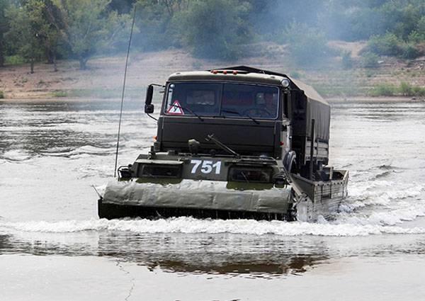 Команда из КНР в ходе армейских игр попросила об использовании плавающих транспортёров ВС РФ