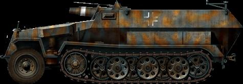 Sd.Kfz.251 / 9 veicolo da ricognizione da combattimento (Germania)