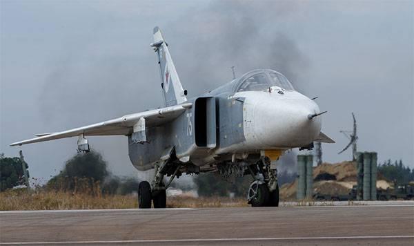 Отмечается рост числа вылетов авиации ВКС РФ в Сирии