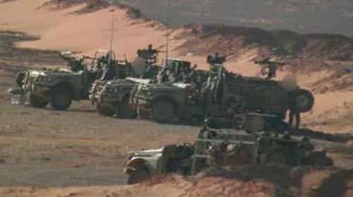 Британский спецназ на юге Сирии