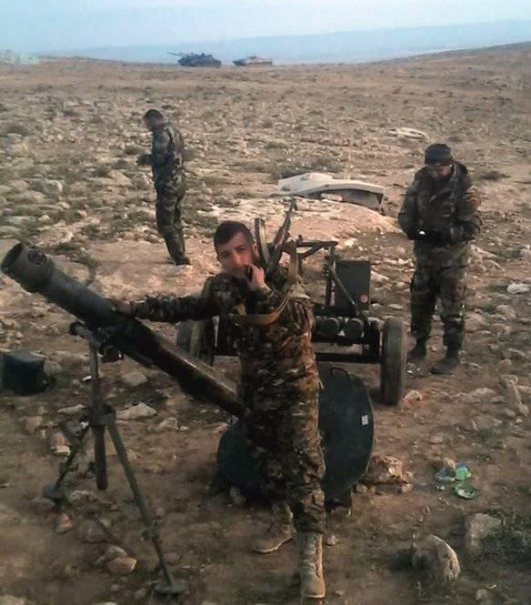 Миномёты «Сани» на вооружении сирийской армии
