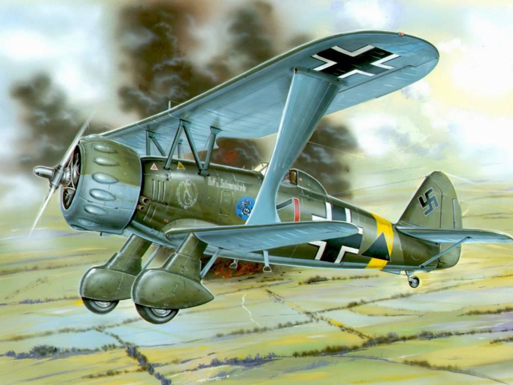 Задница немецкого пилота