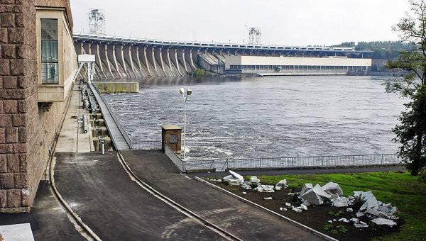 Река Днепр как возможный театр военных действий