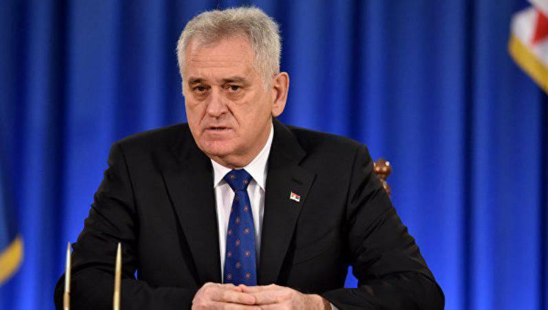 Президент Сербии: республика не поддержит антироссийские санкции