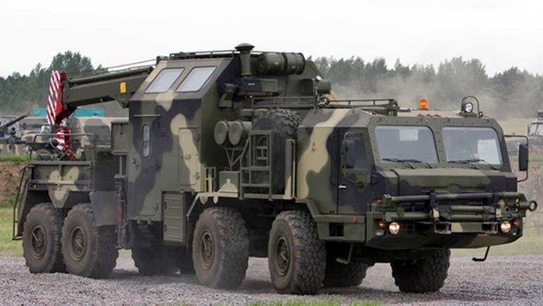 В РФ создан эвакуатор для ЗРК С-400