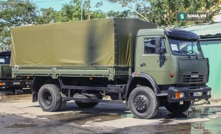 Вьетнамской армии поставлена очередная партия КамАЗов