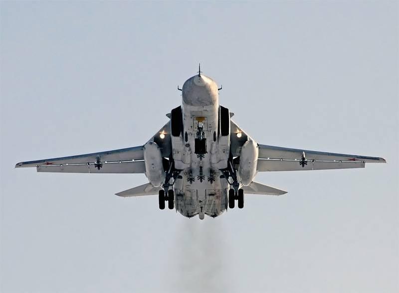 Сирийские лётчики осваивают российские Су-24М2