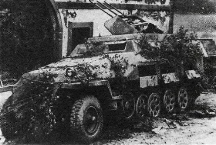 Зенитная самоходная установка Sd.Kfz.251/21 (Германия)