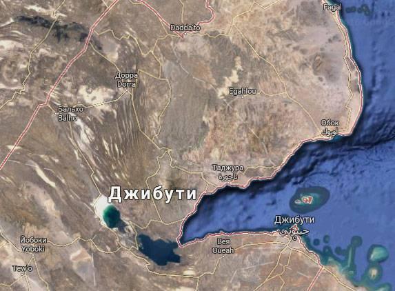 КНР создаёт базу ВМС в африканском Джибути