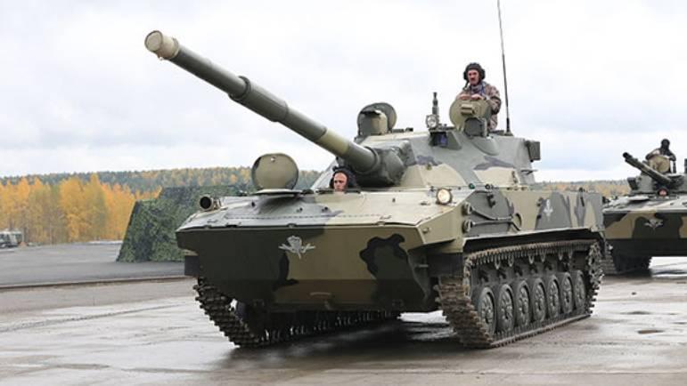 «Спрут-СДМ1» вооружат управляемой ракетой