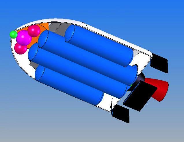 Проект авиационно-космической системы «Вьюга»