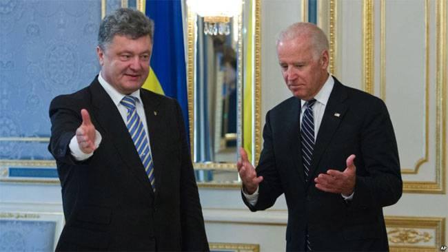 Как вице-президент США требовал от Порошенко смены генпрокурора Украины