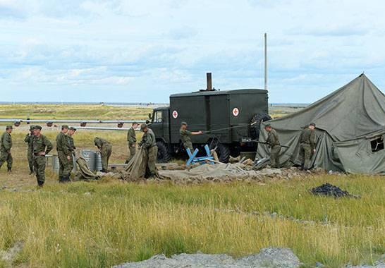 Военнослужащие войск РХБЗ ликвидировали вспышку сибирской язвы на Ямале