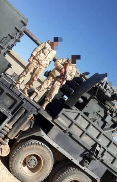 Оригинальные колёсные САУ ливанского «Сопротивления» в Сирии